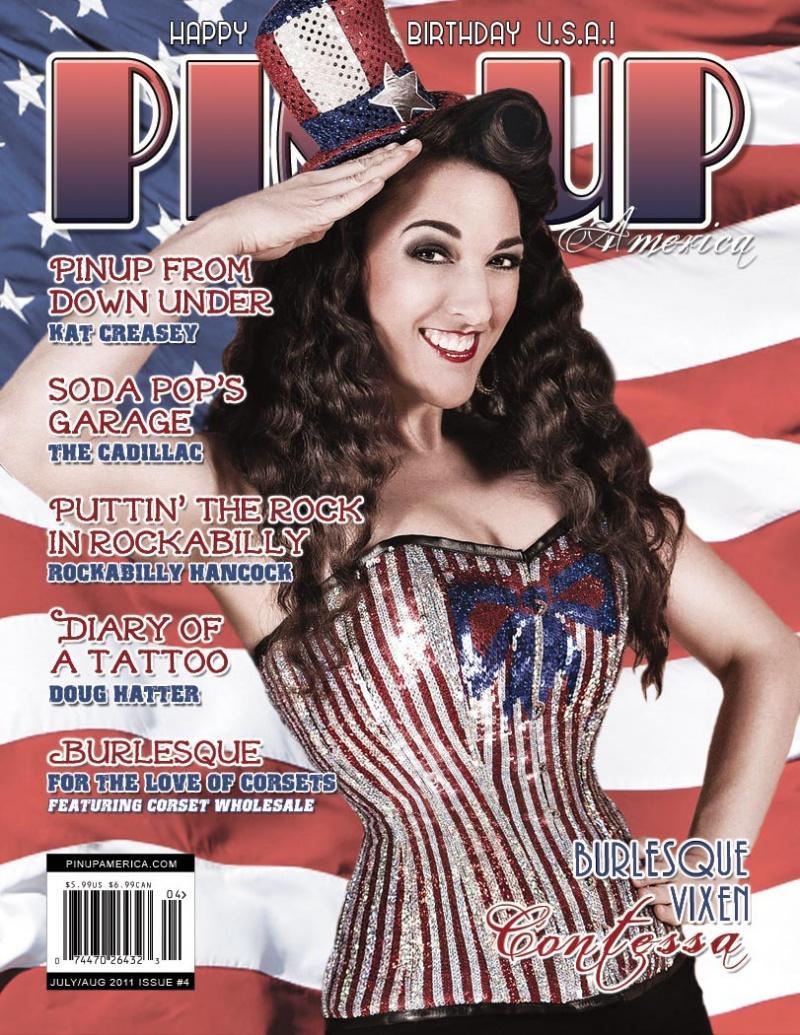 http://PinUpAmericaMagazine.com Jul 30, 2011 Pin Up America Magazine July/August 2011 Issue #4