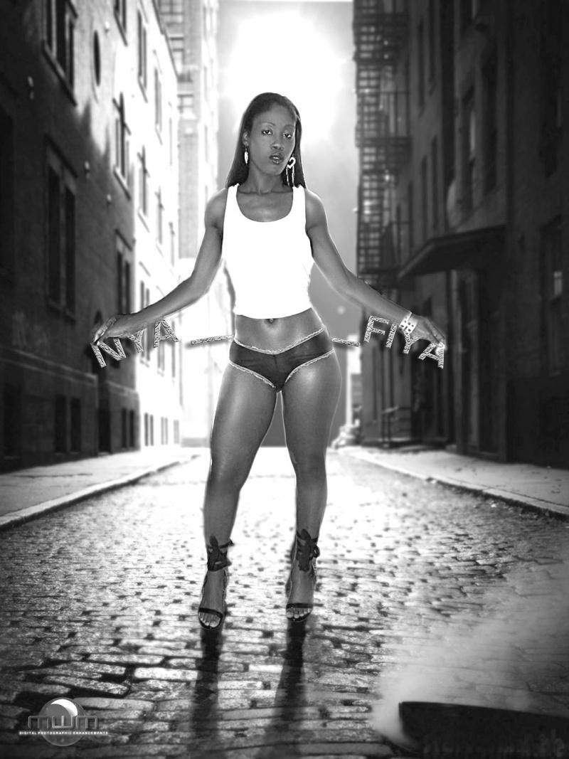 Female model photo shoot of Nya Fiya