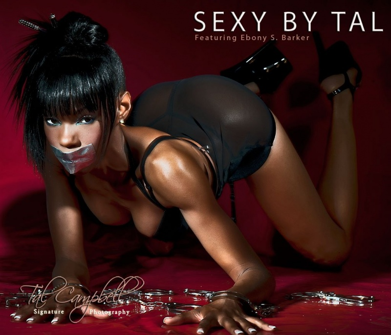 Female model photo shoot of Ebony Barker by Tal Campbell in DALLAS, TX, makeup by Nifique Artistry