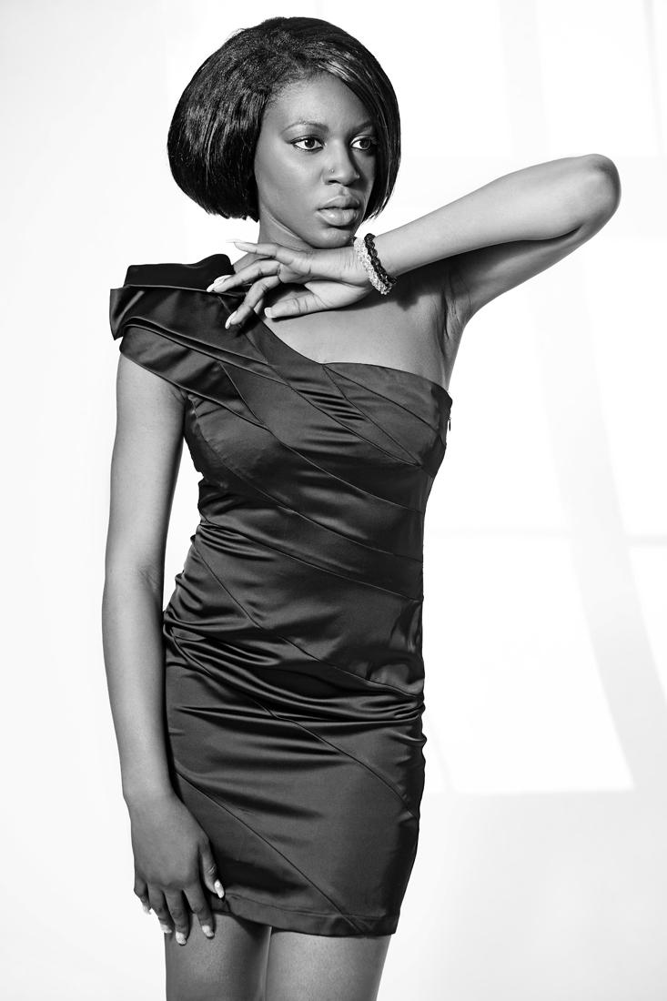 Female model photo shoot of Atiunke