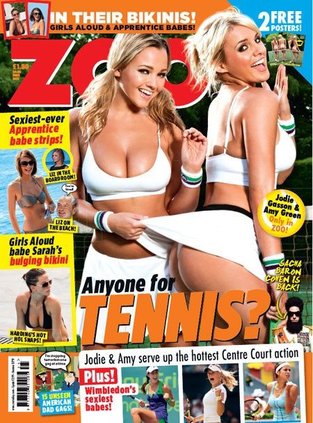 London Aug 01, 2011 Zoo Magazine