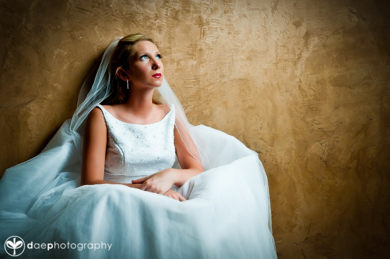 El Dorado Hills Aug 01, 2011 John Walsh Contemplative bride in El Dorado