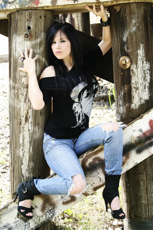 Female model photo shoot of Jesse Isabel by Rough Girl Photography  in TX