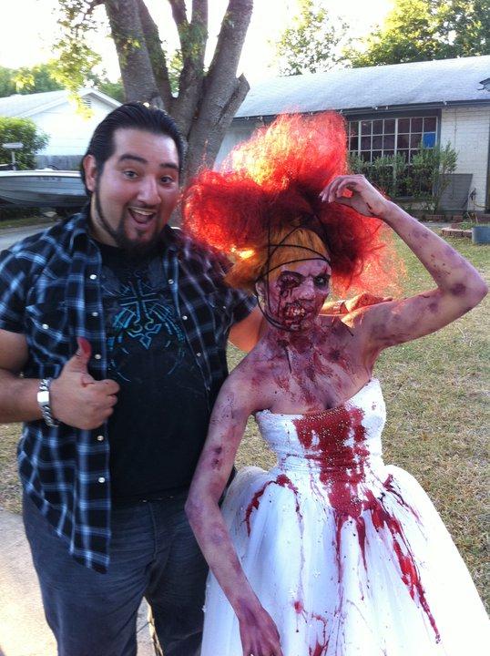 San Antonio, Tx. Aug 01, 2011 Zombie Fashion