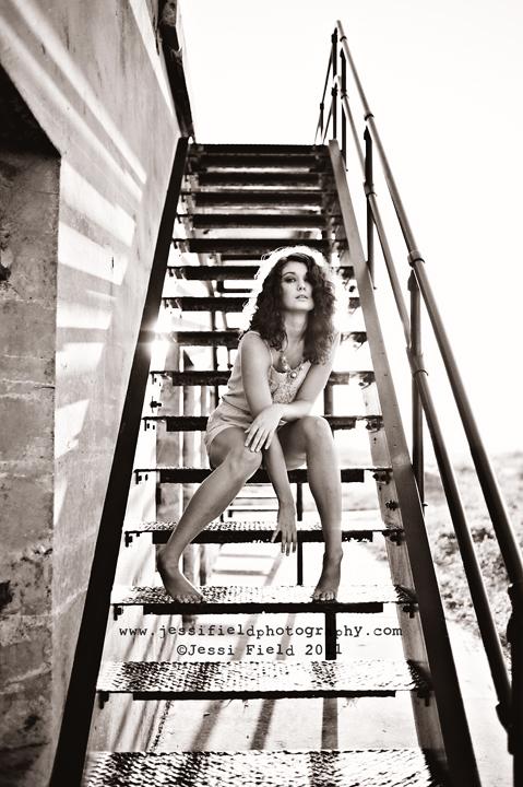 Female model photo shoot of Jessi Field and Brooke WG