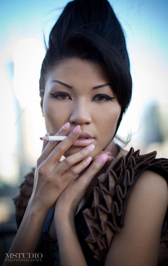 Qin, Model, Vancouver, British Columbia, Canada