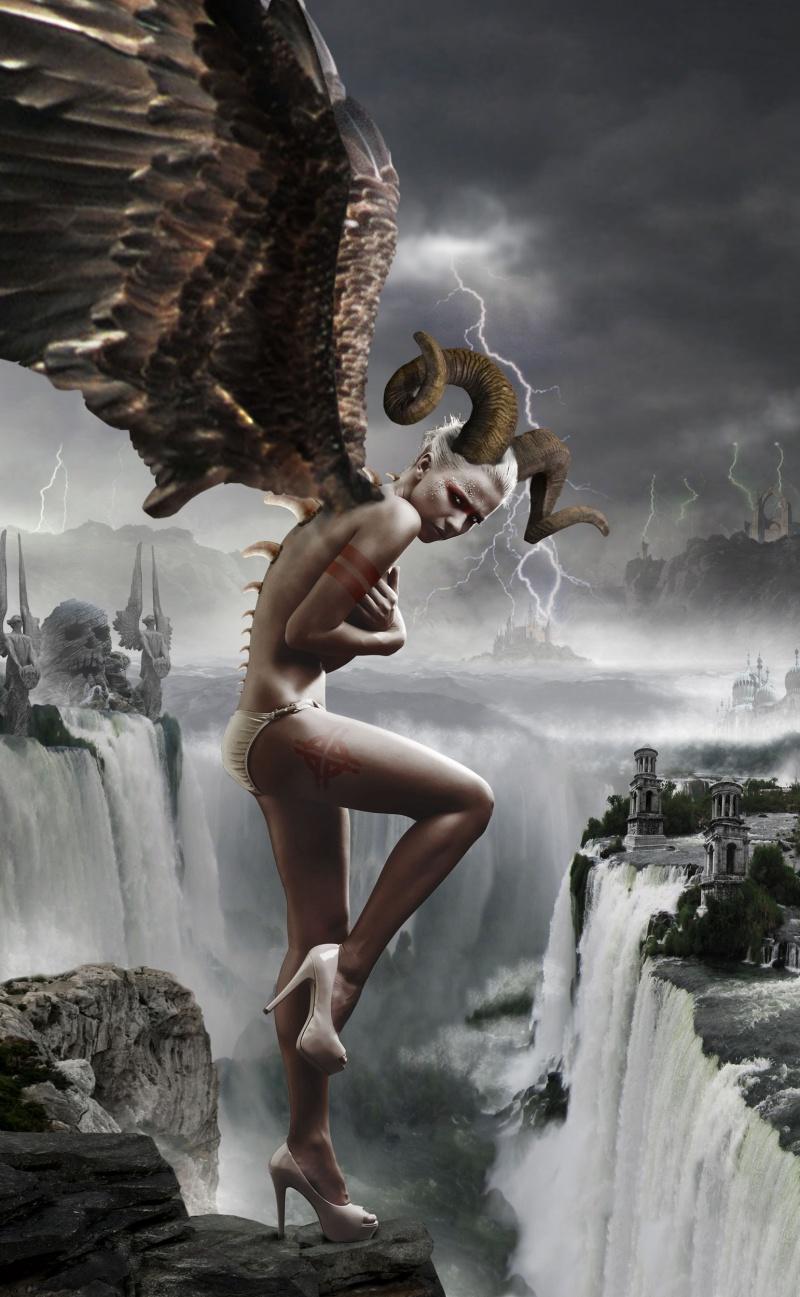 Hells Gate Aug 02, 2011 Digital Artist: Norman A Quinn, Model: Inna Pujhajkova, Model Photographer: Jiri Subrt The Valley of Death...        MM Digital Artist of the Week - Awarded 31st October, 2011