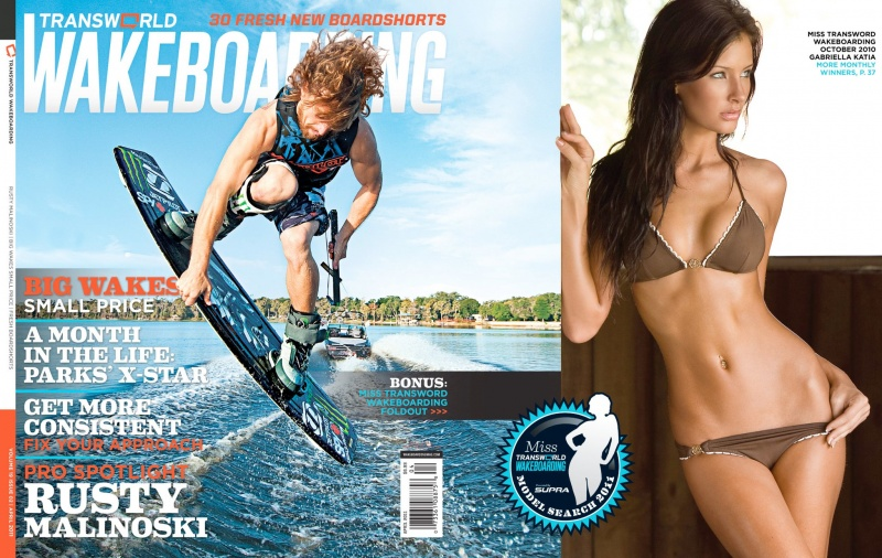 Aug 02, 2011 April Issue of Transworld Wakeboarding Mag