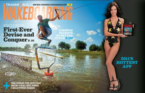Aug 02, 2011 July Cover of Transworld Wakeboarding mag
