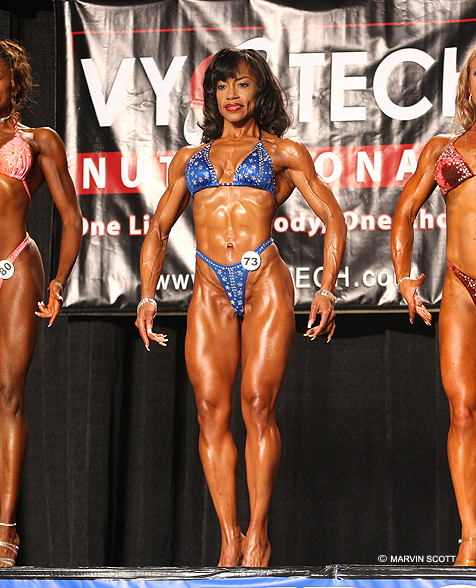 Chicago, Illinois Aug 05, 2011 Marvin Scott Chicago Figure Competition