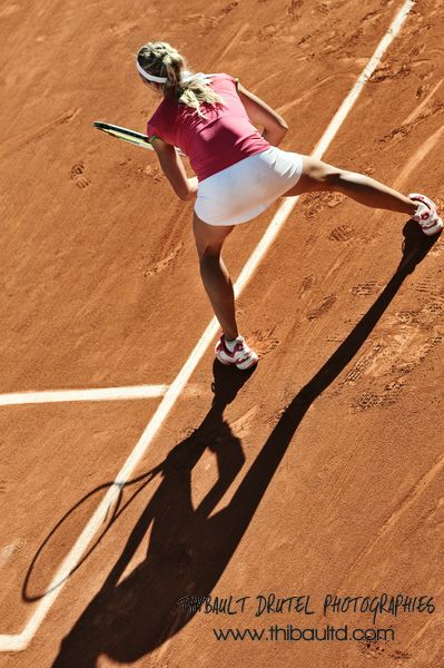 Male model photo shoot of thibaultd in Roland Garros