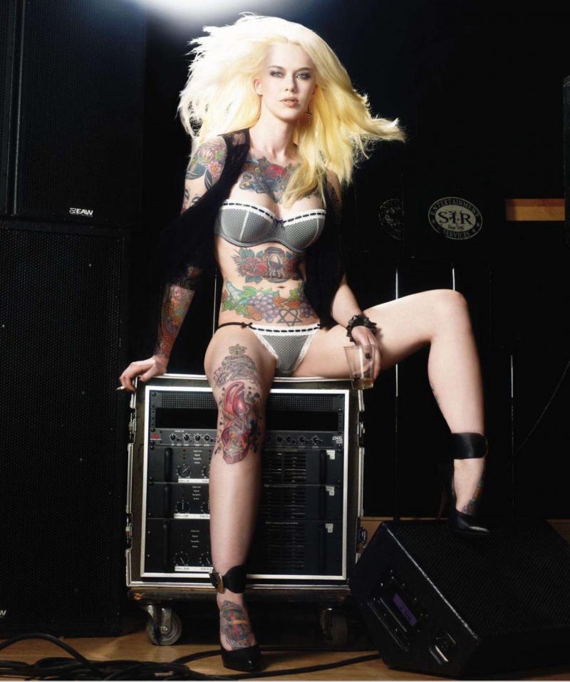 Aug 06, 2011 Inked magazine, Warwick Saint