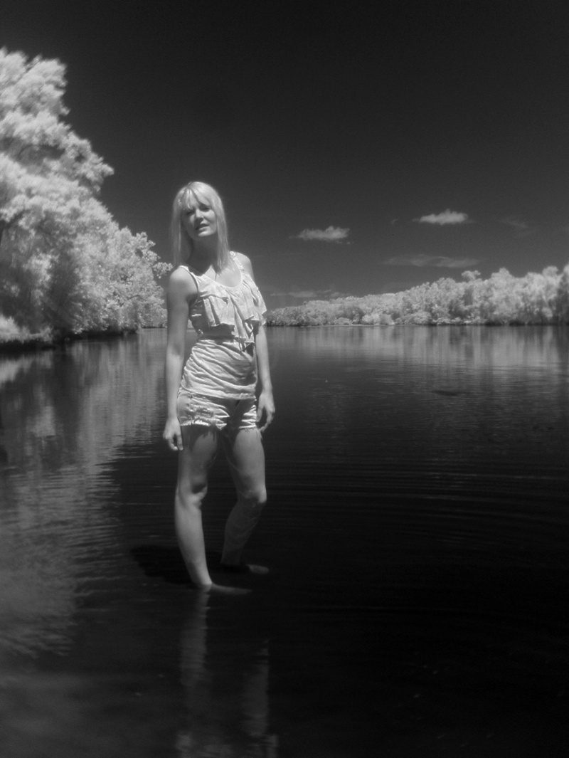 Wisconsin River Aug 06, 2011 Yes. Experimenting with my infrared camera.