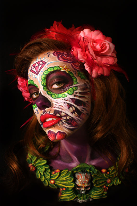 California Aug 07, 2011 Alex Hansen / Lymari Millot Sugar Skull!!
