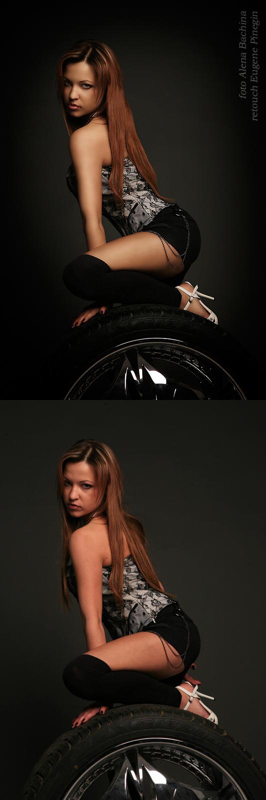 Male model photo shoot of Yevgeny Pinegin
