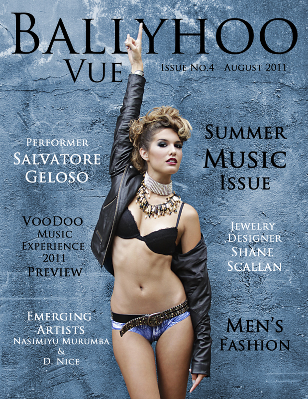 New Orleans Aug 09, 2011 2011 CMW Media Ballyhoo Vue Magazine - August 2011