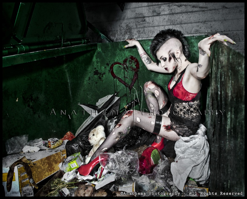 Aug 09, 2011 Anathema Photography 2011 Finding Love in a Trashcan