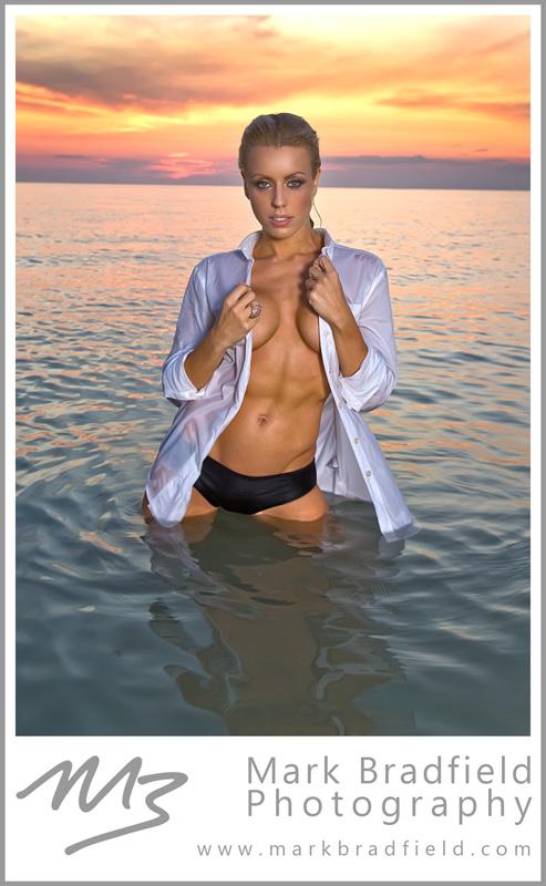 Wasaga Beach, ON Aug 13, 2011 © Mark Bradfield Photography Trish Janik, Fitness Model