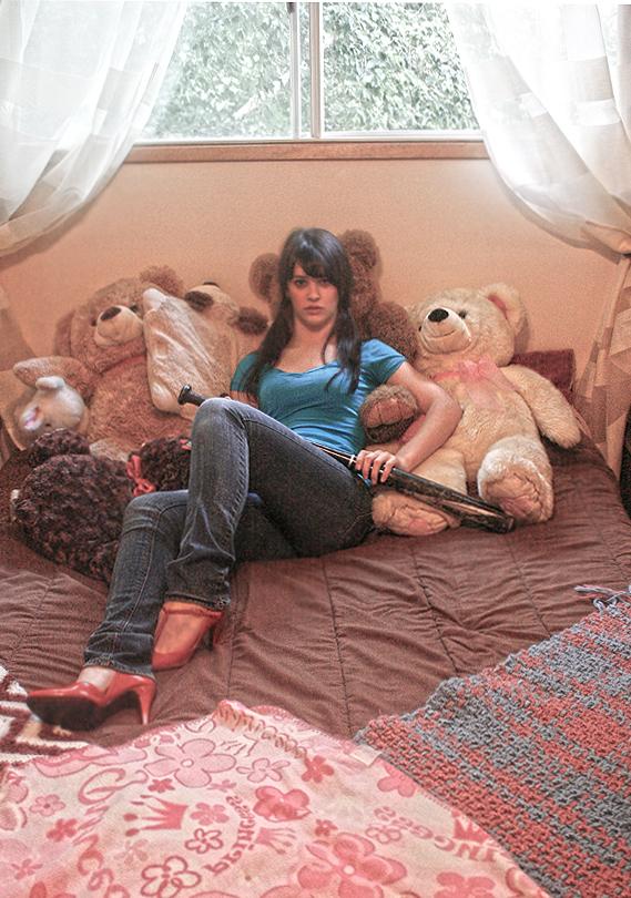 Female model photo shoot of Kay Peers in Canada