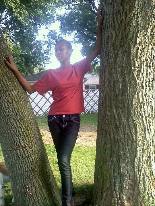 Aug 14, 2011 sunny day in my backyard