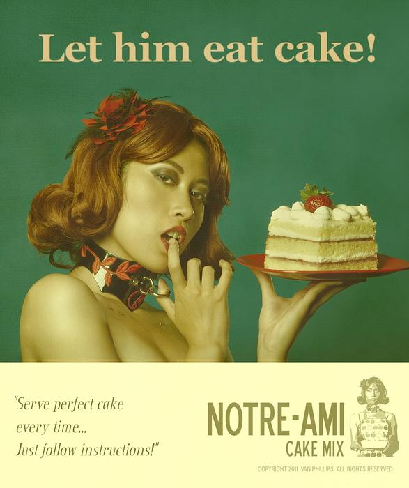 Elmhurst, IL Aug 14, 2011 Copyright 2011 Ivan Phillips Let him eat cake!