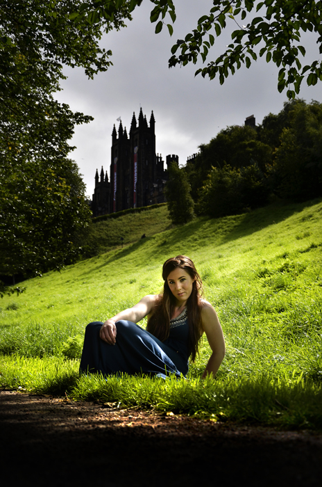 Female model photo shoot of Lisa Mackie by John Alexander Whyte in Edinburgh