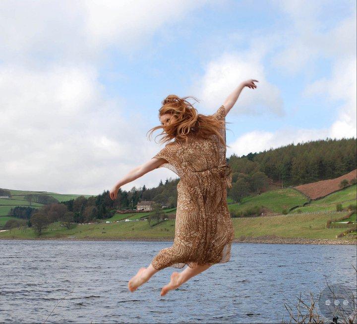 Female model photo shoot of Rachael Amy Benham in Peak District