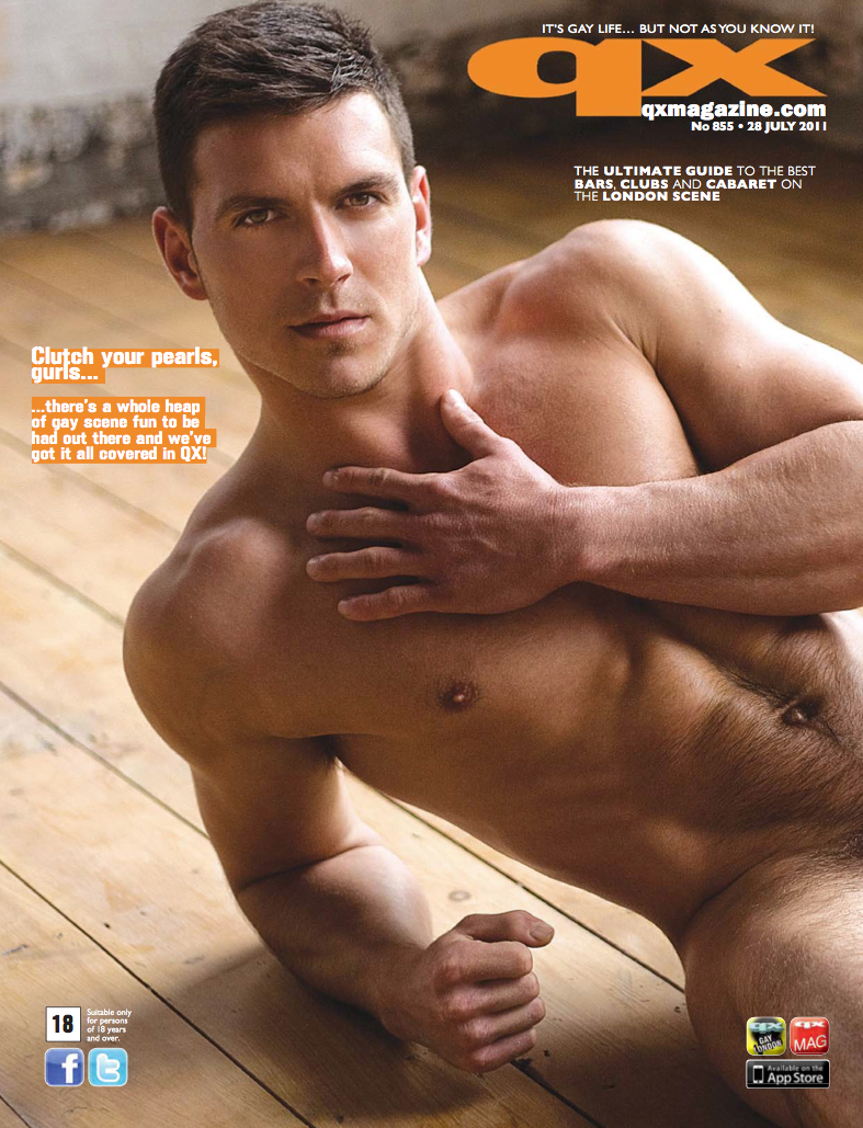 London Aug 17, 2011 Dylan Rosser QX Cover