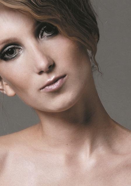 Female model photo shoot of Gnete Kaus in milan