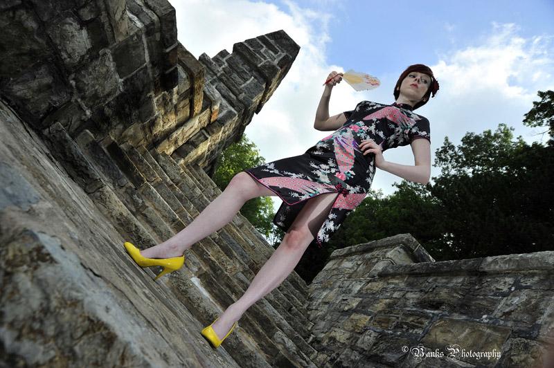 Female model photo shoot of Sarah Cugini by Banks Studio