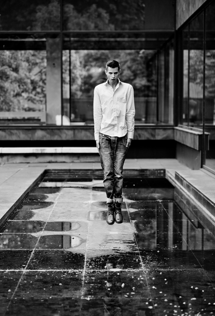 Male model photo shoot of Dainius Sciuka