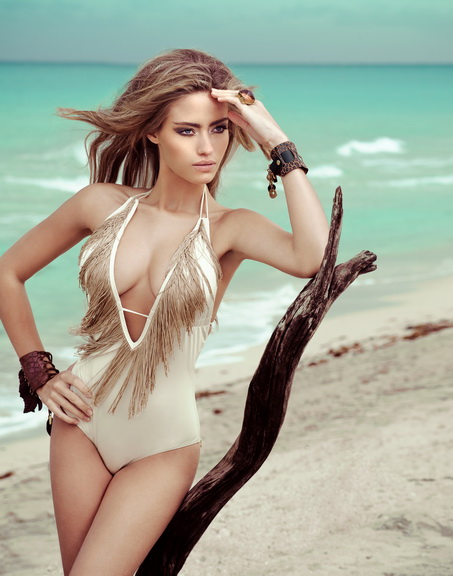 Miami beach Aug 19, 2011 Anna Gunselman, I-on magazine, UK Yulia Jade makeup, Lee O hair, Lina Rodrigez stylist