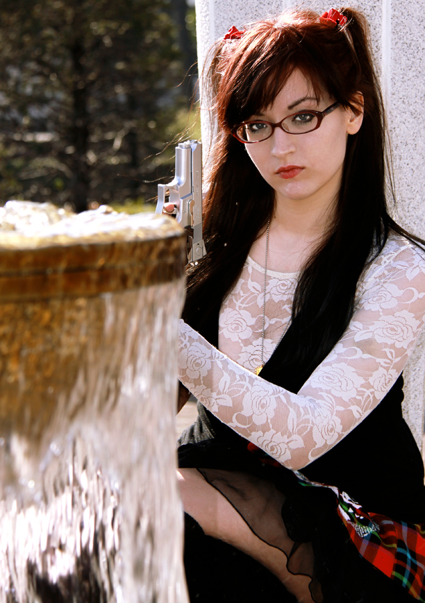 Female model photo shoot of Michelle Branch by Captivating Images