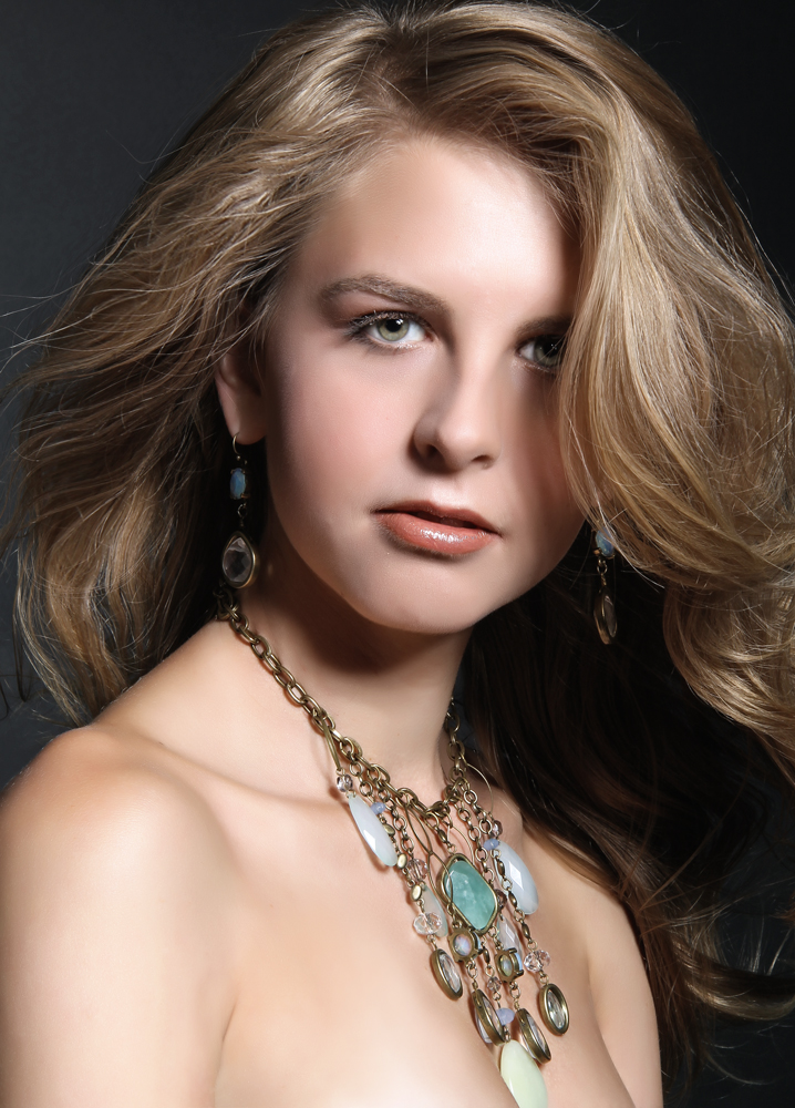 Female model photo shoot of Katherine Janes by Silke Gabrielle, makeup by Carla Tersini