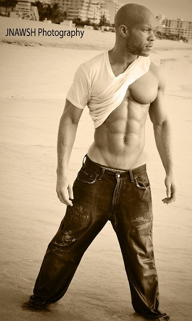 Male model photo shoot of IkeLove by JNAWSH Photography in South Beach, Miami, FL