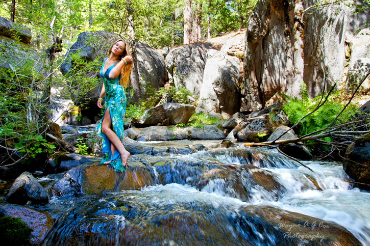 Alder Creek - Yosemite Aug 22, 2011 Wayne A G Coe Photography 2011 Tessa