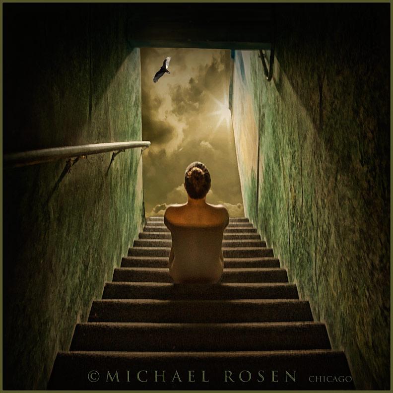Male model photo shoot of Michael Rosen - Chicago in Michael Rosen Studio - Chicago