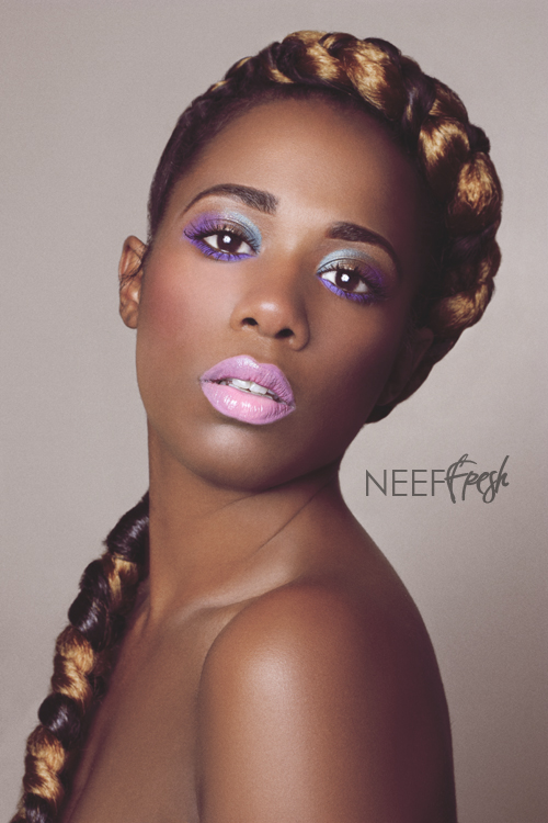 NYC Aug 23, 2011 NEEF FRESH-PHOTOGRAPHER AND MUA, HAIR BY GRACIE BAPTISTE