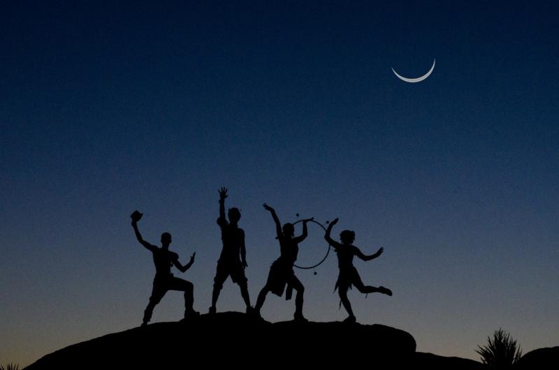 Desert Aug 25, 2011 M Film Moon Tribe