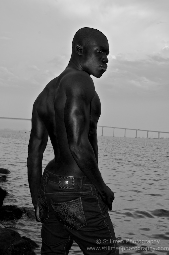 Male model photo shoot of Stillman Photography and Brandon D Lane in San Diego Harbor, CA