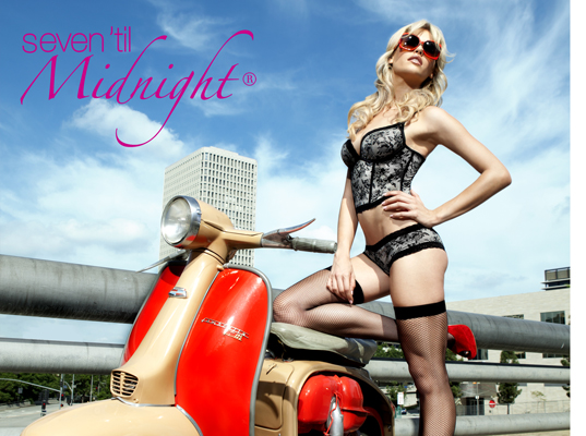 Los Angeles, CA Aug 26, 2011 Seven til Midnight Bond Girl inspired Photoshoot