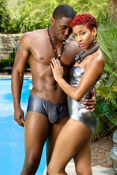Male model photo shoot of Beach Bling Swimwear in Atlanta, Ga.