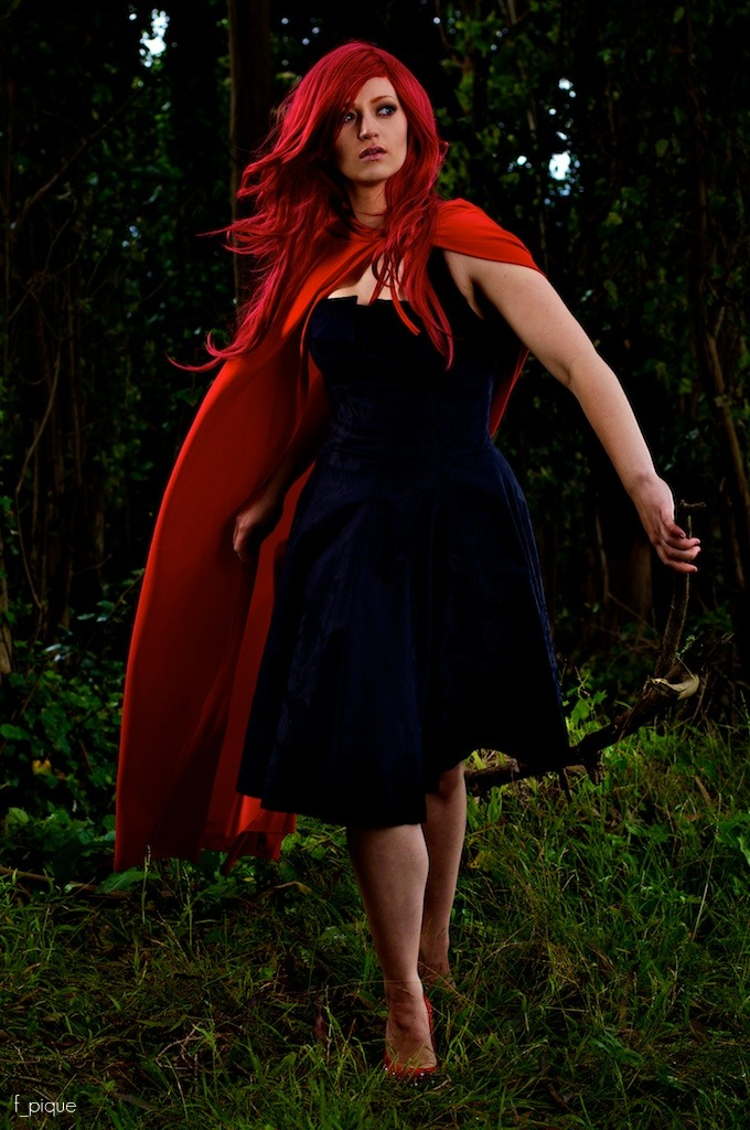 Aug 26, 2011 red riding hood :)