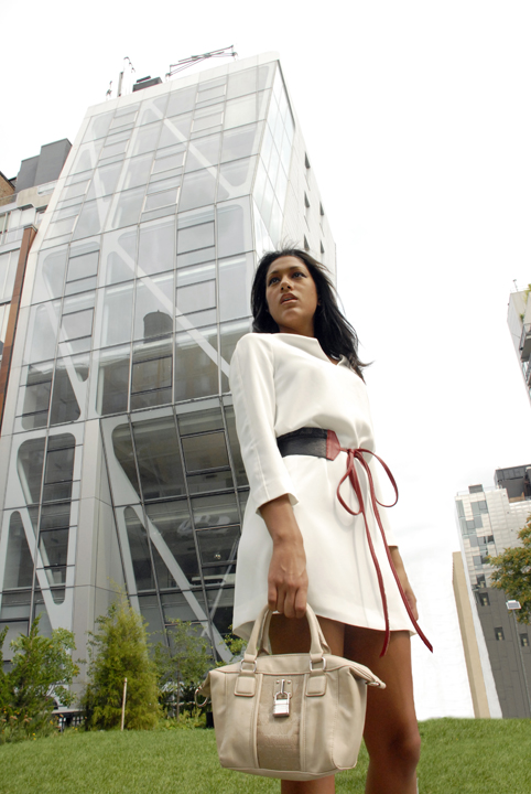 High Line Park, New York, NY Aug 28, 2011 2011 Model: Mely