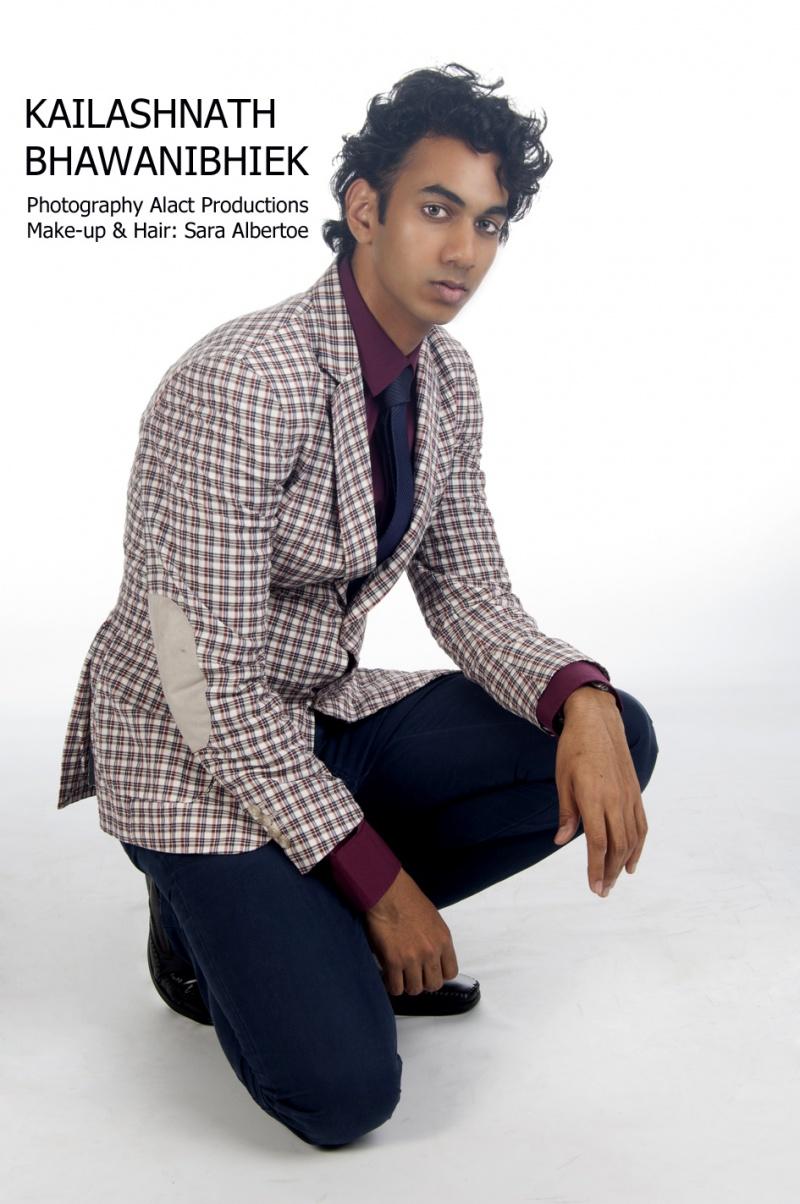 Male model photo shoot of Kai Bhawanibhiek