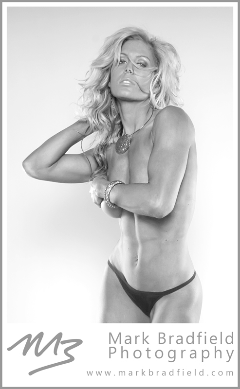 Toronto, ON Aug 29, 2011 © Mark Bradfield Photography Crystal Cunard, WBFF Pro Fitness Model