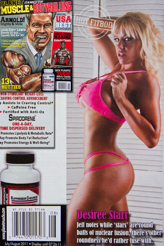 Cape Coral, FL Aug 30, 2011 Corso Photographic Planet Muscle Magazine July/Aug 2011