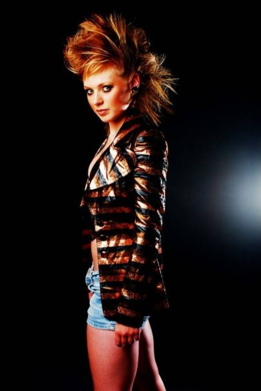 Female model photo shoot of Amy Blackstock in London