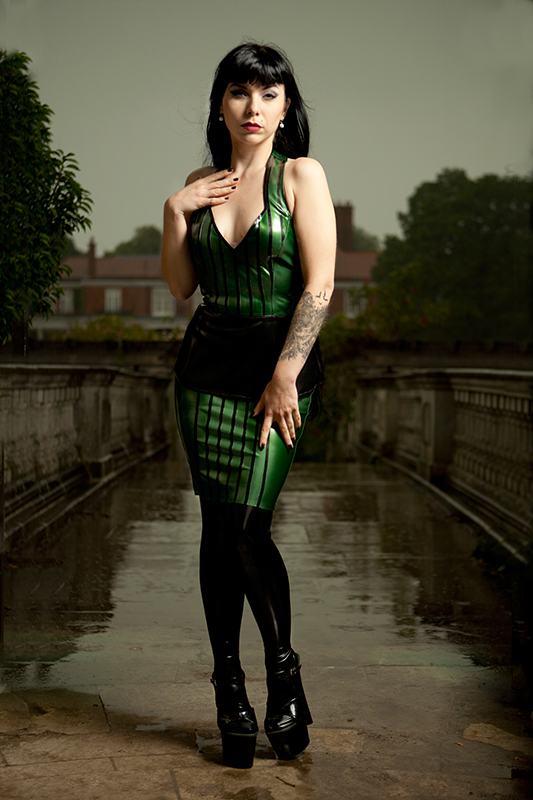 Aug 30, 2011 Mark Perry Pin Striped latex