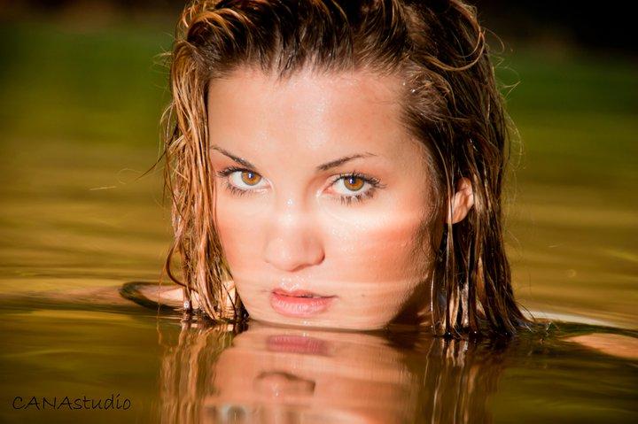 Female model photo shoot of Stefanie Budu in Lake Lanier